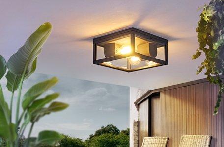 Zewnętrzne lampy sufitowe