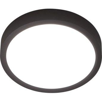 Nino-Leuchten PUCCY Lampa Sufitowa LED Czarny, 1-punktowy