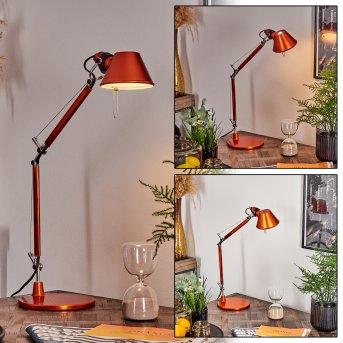 Artemide TOLOMEO MICRO Lampa stołowa Pomarańczowy, 1-punktowy