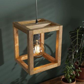 Siddeburen Lampa Wisząca Ciemne drewno, 1-punktowy