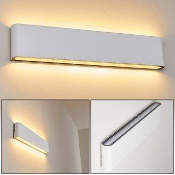 Tinglev Zewnętrzny kinkiet LED Biały, 2-punktowe