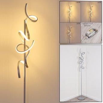 Lavaca Lampa Stojąca LED Srebrny, 2-punktowe