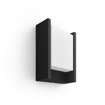 Philips Hue Ambiance White Fuzo Lampa ścienna LED Czarny, 1-punktowy