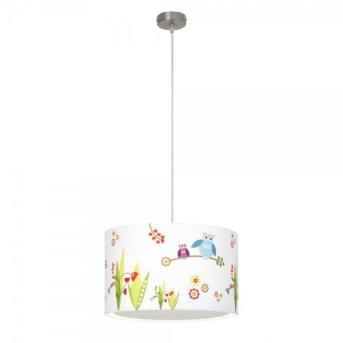 Brilliant Birds lampa wisząca Kolorowy, Biały, 1-punktowy