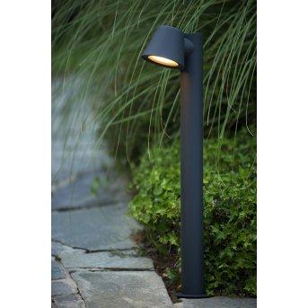 Lucide DINGO-LED słupki oświetleniowe Czarny, 1-punktowy