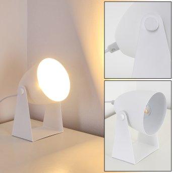 Takeda Lampa stołowa Biały, 1-punktowy