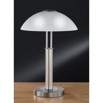Wofi PRESCOT Lampa stołowa Nikiel matowy, 2-punktowe