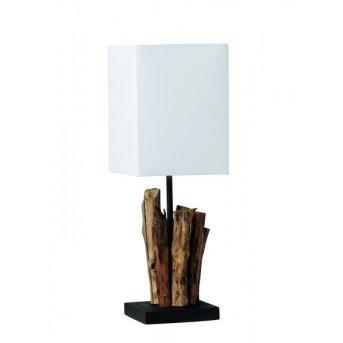 Paul Neuhaus ABUJA Lampa stołowa Ciemne drewno, 1-punktowy
