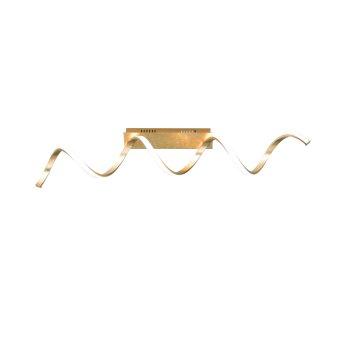 Wofi RUSSELL Lampa Sufitowa LED Złoty, 1-punktowy