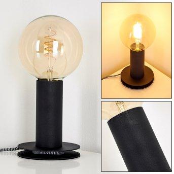 Kimstad Lampa stołowa Czarny, 1-punktowy