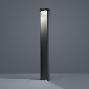 Helestra SKY słupki oświetleniowe LED Czarny, 1-punktowy