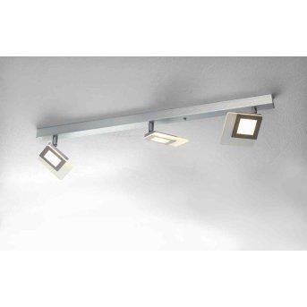 Bopp LINE lampa sufitowa LED Aluminium, 3-punktowe