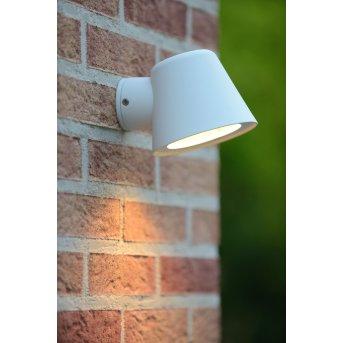 Lucide DINGO-LED lampa ścienna Biały, 1-punktowy