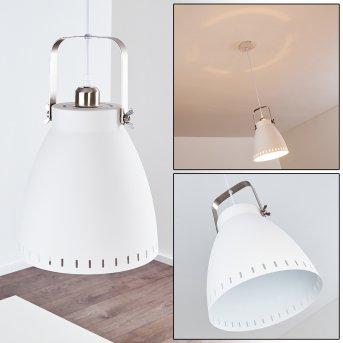 Vlissingen Lampa Wisząca Biały, 1-punktowy