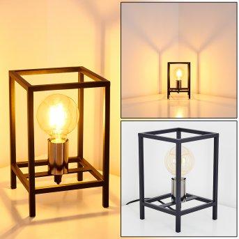 Flambeau Lampa stołowa Czarny, 1-punktowy
