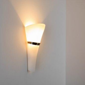 Lewisporte lampa ścienna Nikiel matowy, 1-punktowy
