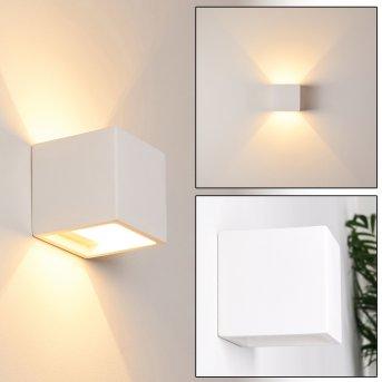 Braslo Lampa ścienna Biały, 1-punktowy