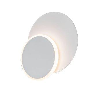 WOFI SUTTER Lampa ścienna LED Biały, 1-punktowy