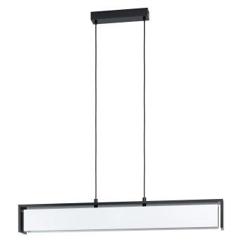 Eglo VALDELAGRANO Lampa Wisząca LED Czarny, 1-punktowy, Zmieniacz kolorów