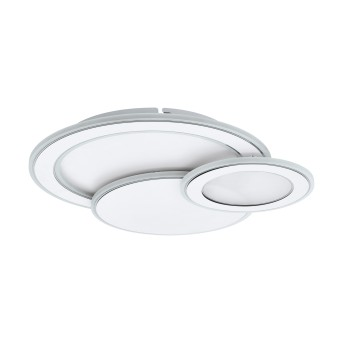 Eglo MENTALURGIA Lampa Sufitowa LED Chrom, Biały, 1-punktowy