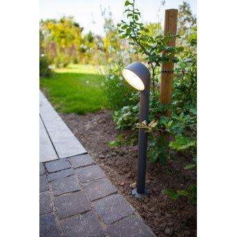Lutec Dakota Oświetlenie ścieżek LED Antracytowy, 1-punktowy