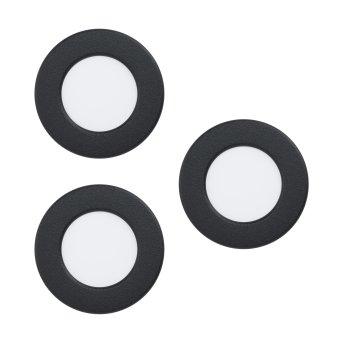 Eglo FUEVA Oprawa wpuszczana LED Czarny, 3-punktowe