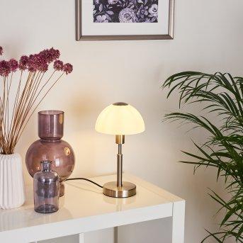 Montecristo lampka nocna Nikiel matowy, 1-punktowy