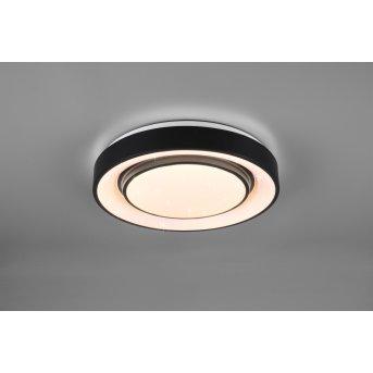Reality Mona Lampa Sufitowa LED Czarny, 1-punktowy, Zmieniacz kolorów