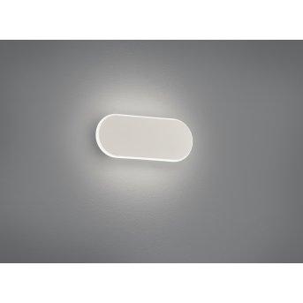 Trio Carlo Lampa ścienna LED Biały, 1-punktowy