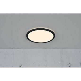 Nordlux OJA Lampa Sufitowa LED Czarny, 1-punktowy