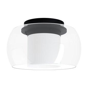 Eglo BRIAGLIA Lampa Sufitowa LED Czarny, 1-punktowy, Zmieniacz kolorów