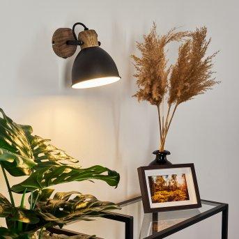 Banjul Lampa ścienna Czarny, 1-punktowy