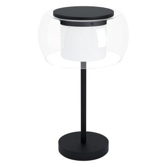 Eglo BRIAGLIA lampka nocna LED Czarny, 1-punktowy, Zmieniacz kolorów