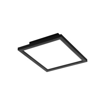 Eglo SALOBRENA Lampa Sufitowa LED Czarny, 1-punktowy, Zmieniacz kolorów