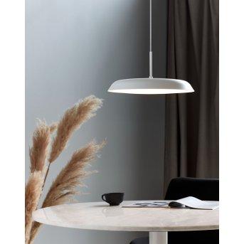 Nordlux PISO Lampa Wisząca LED Biały, 1-punktowy