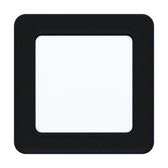 Eglo FUEVA Oprawa wpuszczana LED Czarny, 1-punktowy