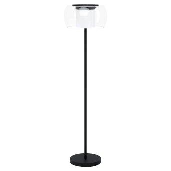 Eglo BRIAGLIA Lampa Stojąca LED Czarny, 1-punktowy, Zmieniacz kolorów