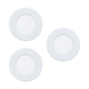 Eglo FUEVA Oprawa wpuszczana LED Biały, 3-punktowe