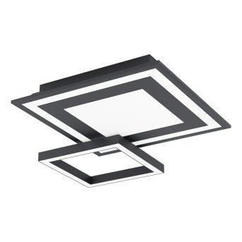Eglo SAVATARILA Lampa Sufitowa LED Czarny, 1-punktowy, Zmieniacz kolorów