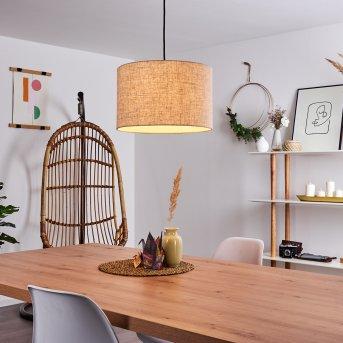 Shiburg Lampa Wisząca Jasne drewno, 1-punktowy