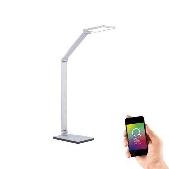 Paul Neuhaus Q-HANNES lampka nocna LED Srebrny, 1-punktowy, Zdalne sterowanie