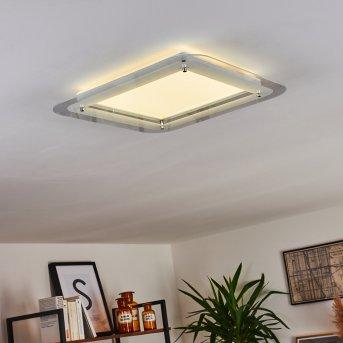 Ipres Lampa Sufitowa LED Biały, 1-punktowy