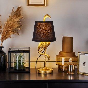 Janine lampka nocna Złoty, 1-punktowy