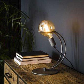 Ostuni lampka nocna Srebrny, 1-punktowy