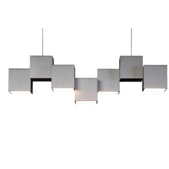 Grossmann ROCKS Lampa Sufitowa LED Aluminium, 5-punktowe