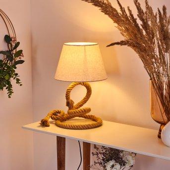 Makondo lampka nocna Brązowy, 1-punktowy