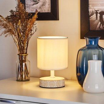 Kigombo lampka nocna Biały, W kolorze kremowym, 1-punktowy