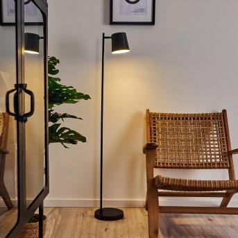 Tontolos Lampa Stojąca LED Czarny, 1-punktowy