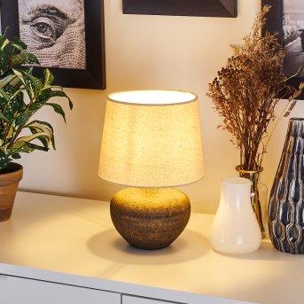 Exchange lampka nocna Brązowy, 1-punktowy