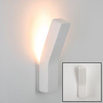 Bettona Lampa ścienna Biały, 1-punktowy